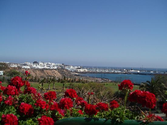 Playa Blanca, Spain: The view from the balcony