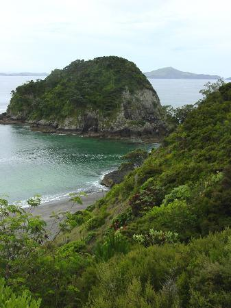 Bay of Islands, Selandia Baru: Secluded bay