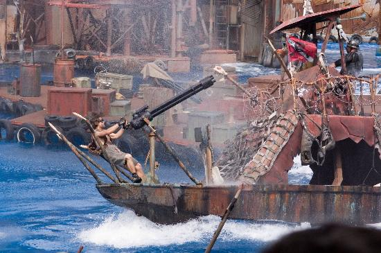 Waterworld Show Picture Of Universal Studios Hollywood