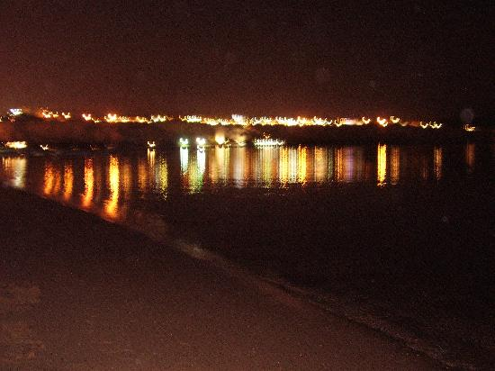 Iberotel Palace: Beach at night