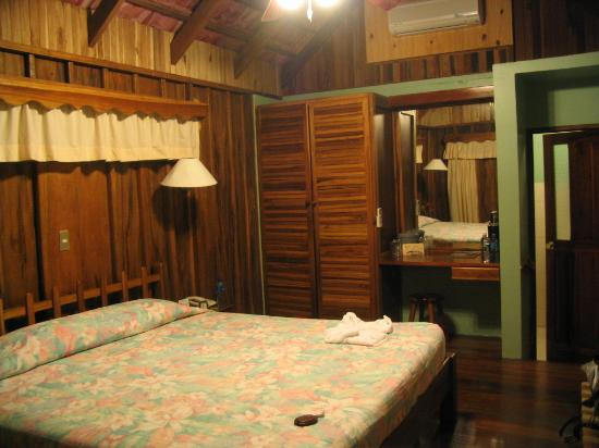 Las Cabanitas Resort: inside the cabin