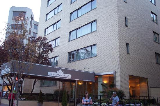 foggy bottom map picture of state plaza hotel. Black Bedroom Furniture Sets. Home Design Ideas