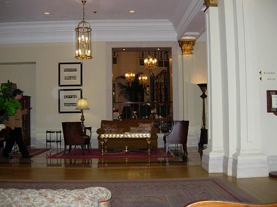 Le Meridien Budapest: lobby