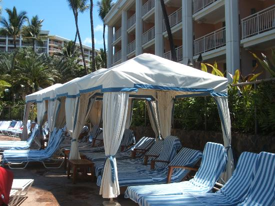 Cabanas Grand Wailea : The good bad and ugly grand wailea a waldorf