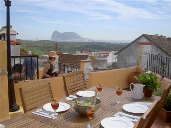 View of Gibraltar from Casa Julio Verne San Roque