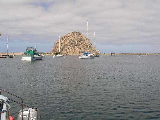 The Rock at Morro Bay.