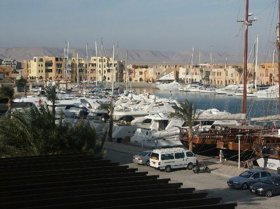 Three Corners Ocean View Hotel - Adults only: View over Abu Tig Marina at El Gouna