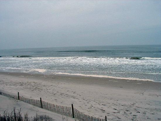 Topsail Beach, NC: Walk on the Beach at North Topsail