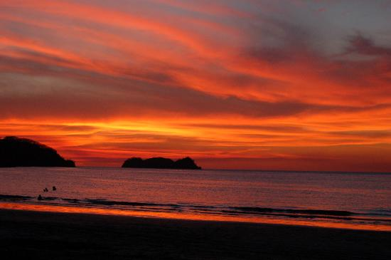 Playa Hermosa Bosque del Mar Hotel: Amazing sunsets