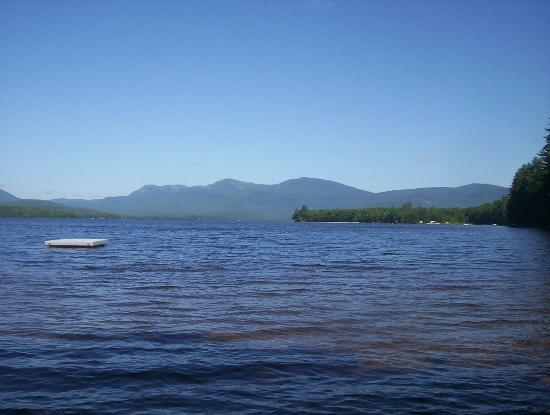 Weld, ME: view of the lake
