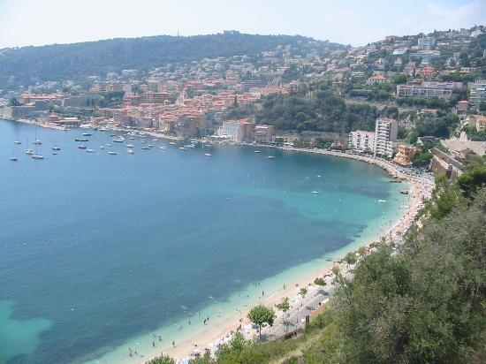 Villefranche-sur-Mer, Frankrig: view of the bay