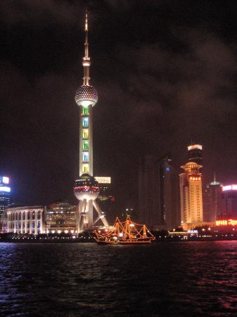 Shanghaiansk, Kina: The Pearl Tower