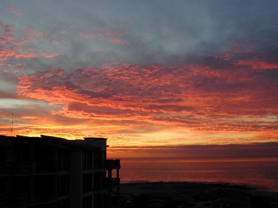 Cabo San Lucas, Meksyk: Sunrise from deck of Cabo&#39;s Elite Getaways