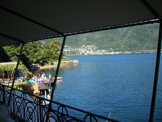 Art Deco Hotel Dellago: Balcony terrace view 1