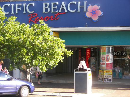 Front Entrance to Pacific Beach Resort