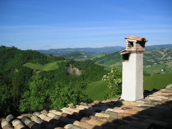 Urbino, Italy: View from living room