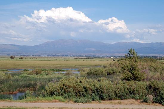 Genoa, NV: Carson Valley - The View East from Walley&#39;s