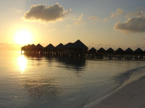 Baros Maldives: Water bungalows