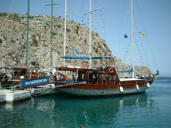 Kos Town, Yunanistan: 3 island Boat trip