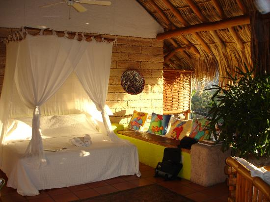 La Quinta Troppo: Our first room...open air style!