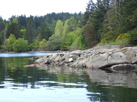 Pender Island, Canada: Hope Bay