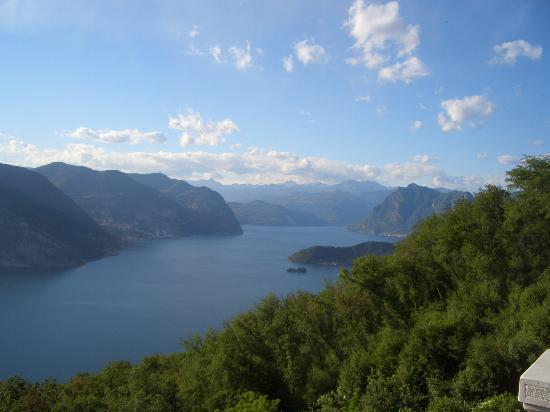 Iseo, Italy: View from the balcony