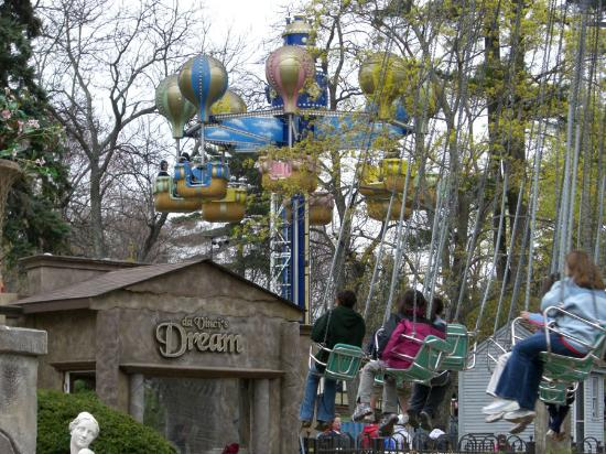 Canobie Lake Park: The park has a vast selection of rides to suit guest of all ages.