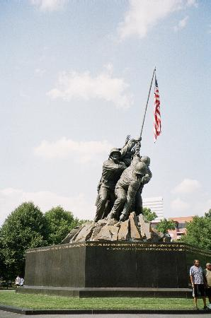 Arlington, Virginie : US Marine Corps Memorial