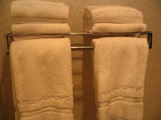 Quality Inn & Suites Eureka Springs: New bath towels