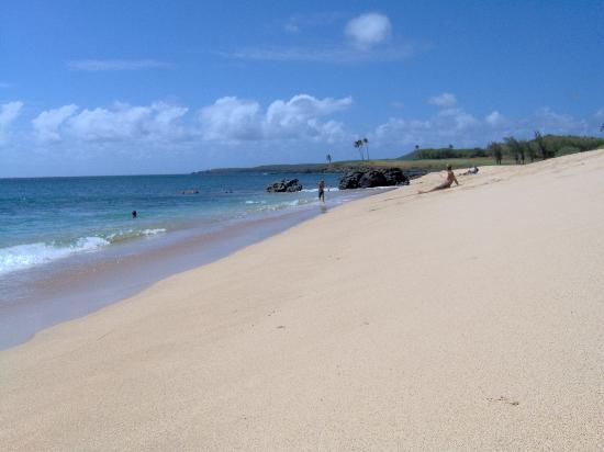 Maunaloa, HI: Your own private beach at Ke Nani Kai .