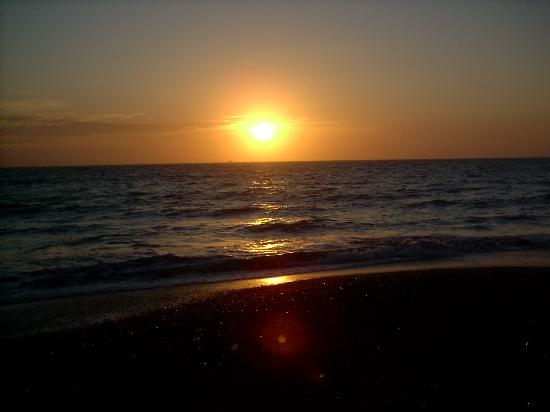 Puerto Vallarta, Mexiko: sunset on the beach