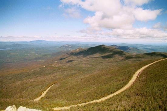Lake Placid, Нью-Йорк: Veterans Memorial Hwy up Whiteface