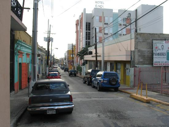 WesternBay Mayaguez: View of Block with Hotel El Sol.
