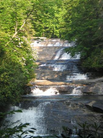 Sapphire, NC: Stairstep Falls