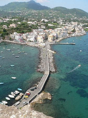 Ischia, Italy: view from the castle