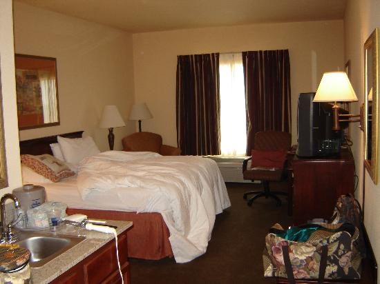 Hampton Inn &amp; Suites Denton: king bed