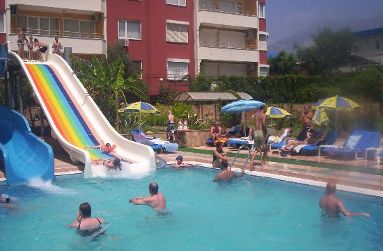 Swimming Pool With Slides Picture Of Club Big Blue Suite Hotel Alanya Tripadvisor