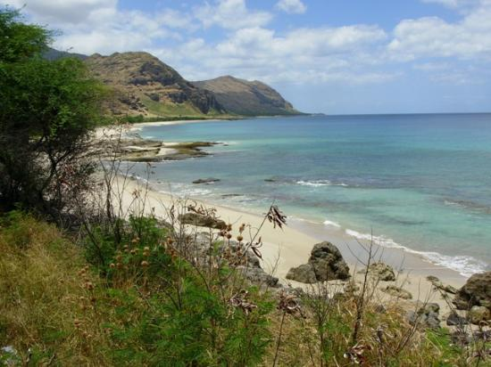 Waianae, HI: Beach North of Makaha