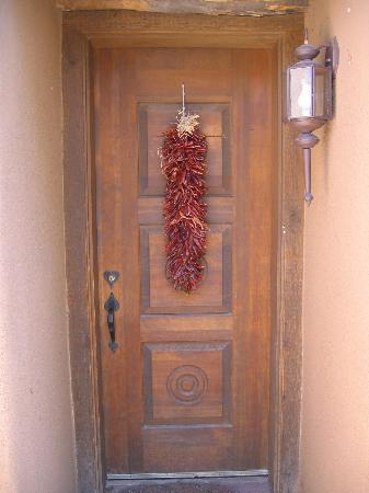 Dunshee's: Private entrance to the B&B quarters.