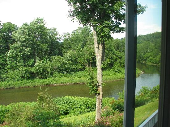 The Shire Woodstock: River View from Room