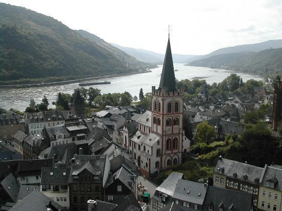 Bacharach on the Rhine River, Germany