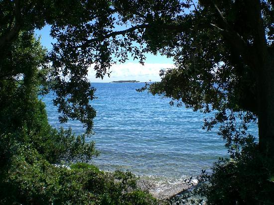 Porec, Kroasia: View from Brijuni Island