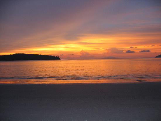 Pantai Cenang, Malezya: beautiful sunset