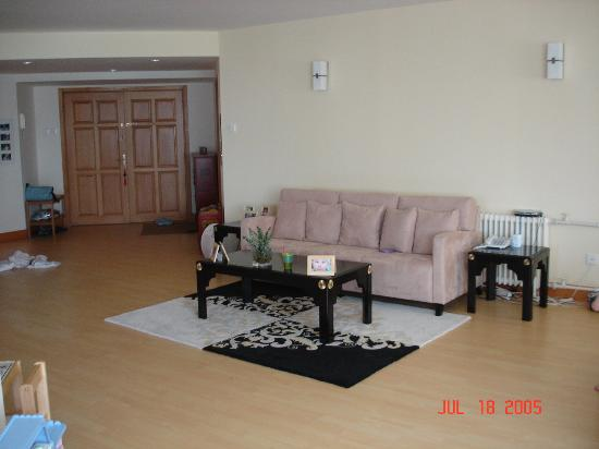 East Gate Plaza Service Apartment: living room