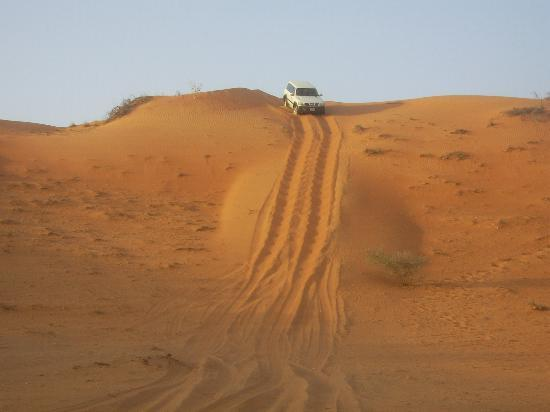 Ras Al Khaimah, United Arab Emirates: desert tour