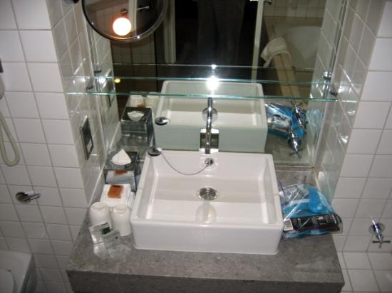 Bathroom Cool Flat Sink But Not Practical Picture Of The Trafalgar Hotel