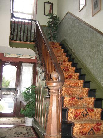 Mooring B&B: Main Staircase