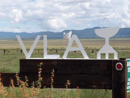 """Ruidoso, NM: The Array like in the Movie """"Contact"""""""