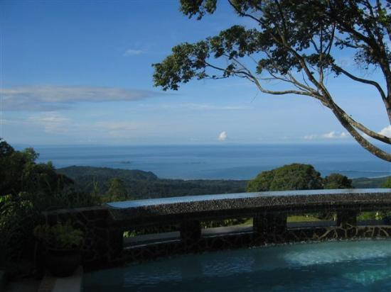 Uvita, Costa Rica: The Pool & What a View!!