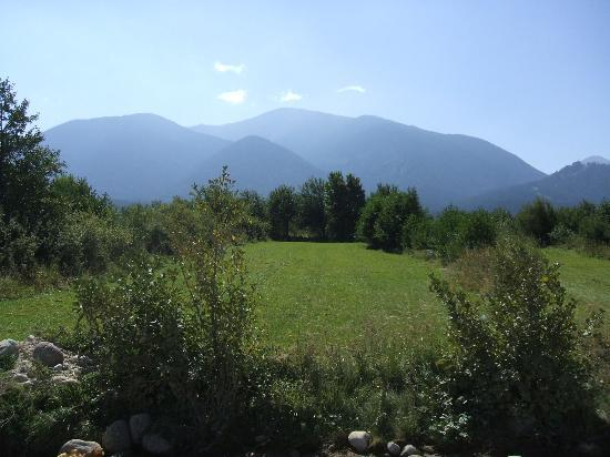 Bansko, Bulgarie : View of mountains